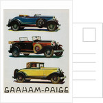 Advertisement for Graham-Paige Automobiles by Corbis