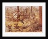 Soldiers Being Attacked at Disarrayed Encampment by Corbis
