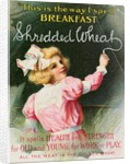 Advertisement for Shredded Wheat by Corbis