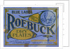 Advertisement for Roebuck Photographic Dry Plates by Corbis