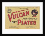 Advertisement for Vulcan Photographic Dark Plates by Corbis