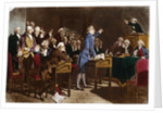 Patrick Henry Addressing the Virginia Assembly by Corbis