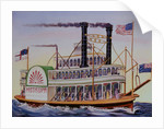 People Riding Excursion Steamer Mississippi by Corbis