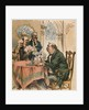 Grover Cleveland Playing Poker by Corbis