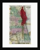 Chicago City Map Showing Section of Terrible Fire by Corbis