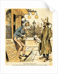Farmer Getting Mortgage From Uncle Sam by Corbis
