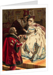 Portrait of Columbus and Queen Isabella by Corbis
