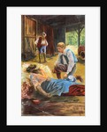 Illustration of Scene from Uncle Tom's Cabin by Harriet B Stowe