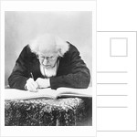 Eugene Chevreul Busy at Work by Corbis