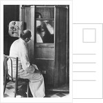 Doctor Using a Fluoroscope by Corbis