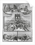 Opening Day for Brooklyn Bridge by Corbis