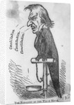 Cartoon of Andrew Johnson as Parrot by Corbis