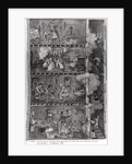 Illustration of Slums in Lower New York by Corbis