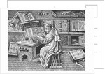 Jean Mielot Busy at Work by Corbis