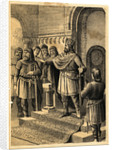 Charlemagne Addressing his Nobles by Corbis