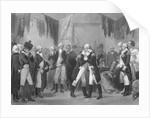 George Washington Saying Farewell by Corbis