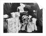 Currency Being Exchanged by Hand by Corbis