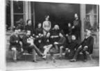 Pupils Surrounding Composer Franz Liszt by Corbis