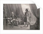 Andrew Jackson and William Weatherford Conversing by Corbis