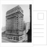 View of St Regis Hotel in NYC by Corbis