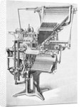 19th Century Linotype Machine by Corbis