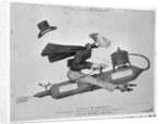 Man on Flying Machine by Corbis