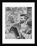 Illustration Depicting Jacques Cartier by Corbis