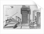 Diagram Illustrating Organ Playing by Corbis