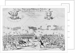 Illustration of Imaginary Use of Armed Balloons by Corbis