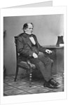 Mathew Maury Relaxing in Chair by Corbis