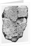Babylonian Clay Tablet by Corbis