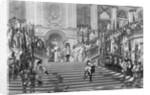 Grande Conde Approaching Louis XIV by Corbis
