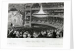 Interior of the Theatre Italien (Ovation of an Actor) by Eugene Lami