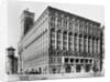 Exterior View of Auditorium Building by Louis H. Sullivan