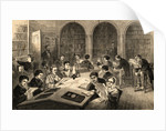 An Evening in the Library by Corbis