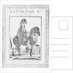 Illustration of Napoleon I on a Horse by Corbis