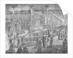 Interior of Early American Department Store by Corbis