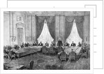 Engraving of the First Session of the Berlin Congress by Corbis