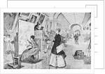 Students Copying Art in the Louvre by Corbis
