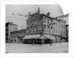 Typical Main Street Corner by Corbis