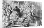 Crowd Smashing Religious Objects by Corbis