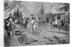 Illustration Entitled Napoleon's Retreat from Moscow by Corbis