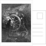 Pilot at Wheel of Ship by Corbis
