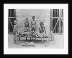 Starving Family in India by Corbis