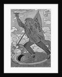 Russian Revolution Propaganda Poster by Corbis