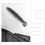 Hindenburg in Flight by Corbis