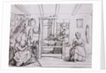 Women at Work During Civil War by Corbis