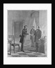 Andrew Johnson Receiving Impeachment Summons by Corbis