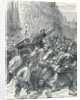 Engraving of Communists Rioting by Corbis