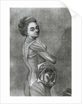 Illustration of Pregnant Woman by Corbis